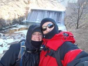 Kathy n Aaron at the Dam