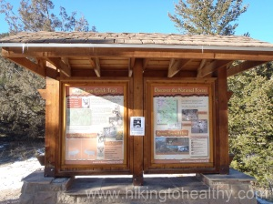 Lion Gulch & Homestead Meadows Information board