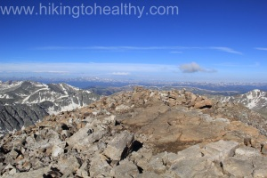 Quandary Peak 14,265 Ft (our first 14er!!!!!), Breckenridge CO 7/2/13