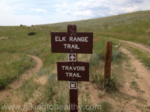 1st trail marker