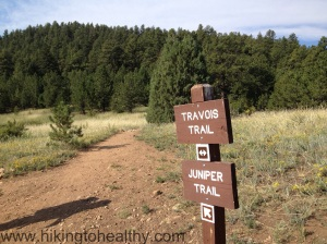 Go right on to the Juniper Trail