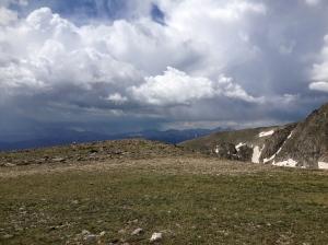 Storm over Mt.Evans