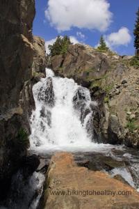 Continental Falls up close