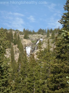 Continental Falls from Spruce Creek Trail