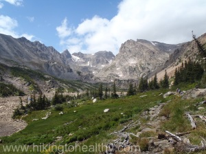 Pawnee Pass Trail - Brainard Lake Recreation Area, Ward CO 8/24/13