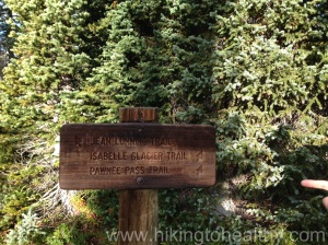 Get back on the Pawnee Pass Trail