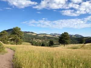 Beautiful day to hike