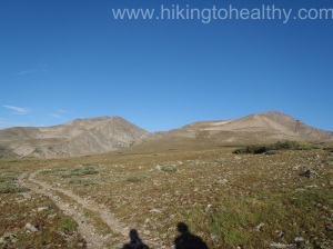 to show how quickly things change weather wise...one the way to James peak beautiful blue skys
