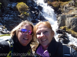 Mary and I at the Continental Falls