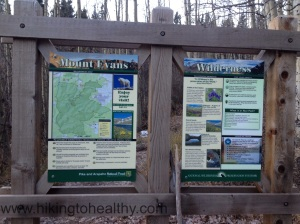 New Trail SIgn....nice but I really wanted the dilapidated one that said HEll's hell for the creep purpose