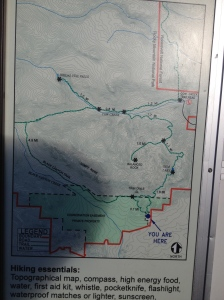 Map of trail system
