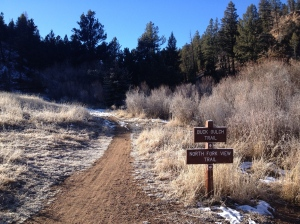Buck Gulch Trailhead