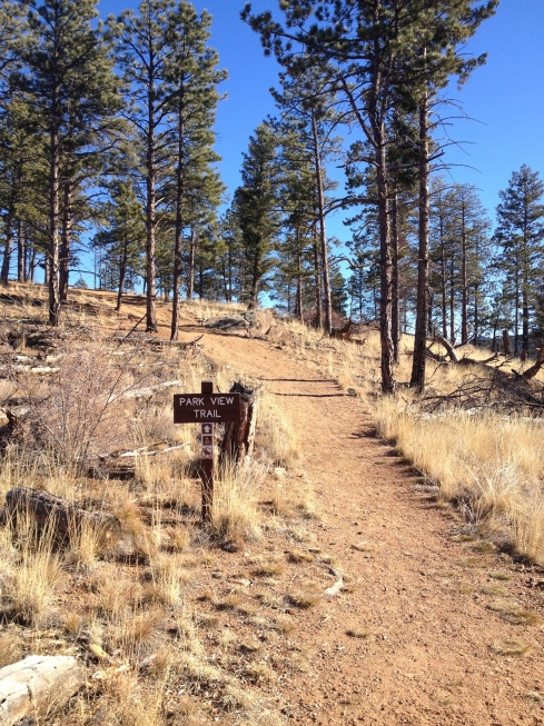 Pine Valley Ranch to Buck Gulch, Pine CO hiked 11/30/13 ...