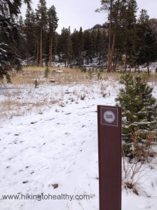 Staunton Ranch Trail marker