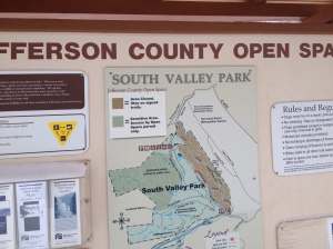 South Valley Ranch Trail map
