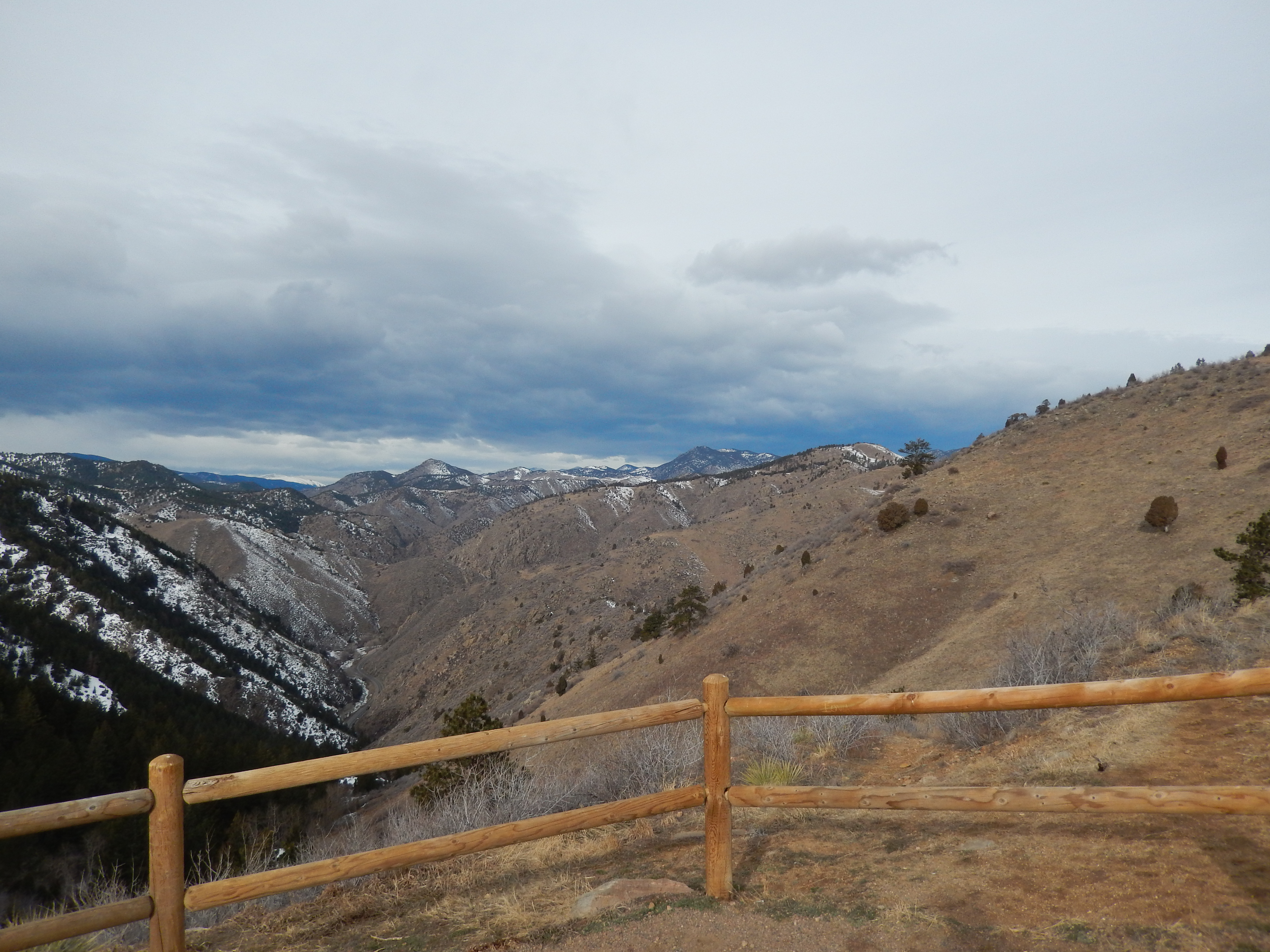 House On Top Of Lookout Mountain: Lookout Mountain Via Chimney Gulch, Golden CO Hiked 2/15