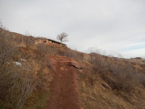 trail conditions on the first half of Chimney Gulch