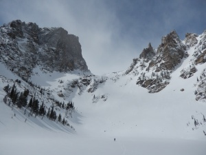 Nymph, Dream & Emerald Lakes - RMNP - Estes CO, Snowshoed 3/15/14