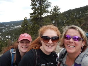 us on evergreen mt.