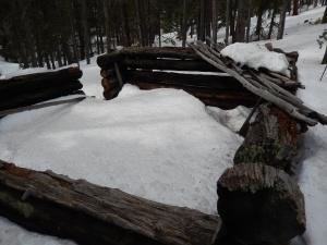cabin ruins