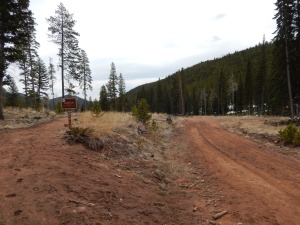 Getting on to Staunton Ranch Trail
