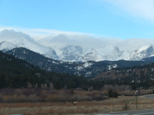 Driving into RMNP