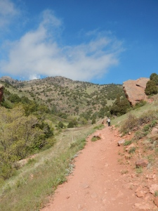 Trail Conditions coming down Red Rocks Trail