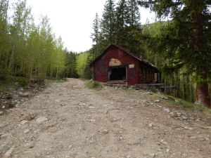 Go past the Cabins