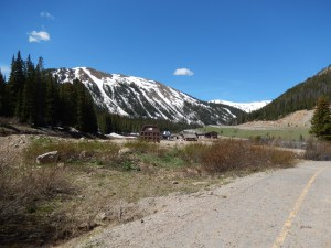 Turnaround point and Loveland Ski Resort