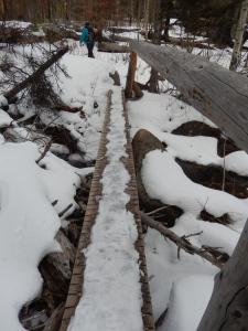 an interesting stream crossing